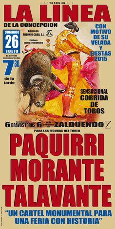 #Cádiz La Linea de la Concepción 2015 @Paquirri74 @Morante_puebla_  ¡REALIZA YA TU RESERVA! en http://www.servitoro.com/Entradas-Toros-La-Linea-de-la-Concepcion.html