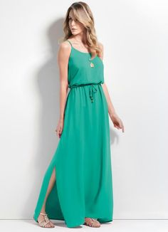 vestido longo casual - Pesquisa Google
