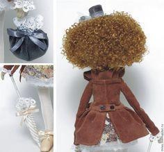 Купить Николь, повтор - кукла интерьерная, кукла текстильная, кукла в подарок, подарок на день рождения