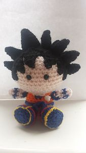 There appears to be a lot of little bits to crochet separately in this pattern, but I found that it produced a more aesthetically pleasing product, as opposed to creating him all in one. Finished product sits in palm of my hand, about 4 1/2 inches tall.