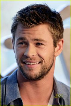 One of the hot guys Kinsey hopes her perfect man will look like - Chris Hemsworth