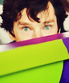 """Wild Cumberbatch appears!"" I know I have this I just really love his fce and eyes in this one so there deal with it"