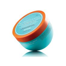 This Moroccan Oil Restorative Hair Mask is a 5-7 minute revitalizing treatment that quickly repairs hair that's weak, damaged, or color-treated.