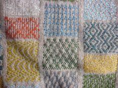 *beautiful woven damask patterns to enrich a plain wool jumper/sweater*