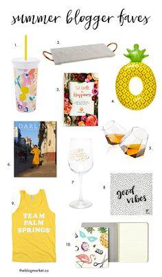Summer Blogger Favor