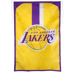 Los Angeles Lakers NBA Team Fan Flag