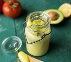 Avocado mayo, a great fat source to add as an alternative to the usual mayonnaise.