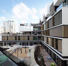 @fernanadoca © Vincent Fillon Architects: Marjan Hessamfar & Joe Vérons Location: Porte des Lilas, 75019 Paris, France Area: 6225.0 sqm Year: 2013 Photographs: