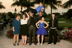 #Mitzvah #family #portrait by #DominoArts #Photography (www.DominoArts.com)