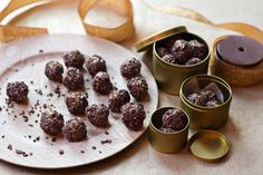 Chocolate Hazelnut Truffles Recipe by Giada De Laurentiis @gdelaurentiis http://www.giadadelaurentiis.com/recipes/115/chocolate-hazelnut-truffles