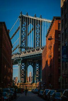 Manhattan Bridge, New York. Door communitylid Destinfabuleux_ - NG ReisCommunity ©