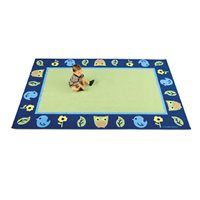 Nature 9' X 12' Rectangular Classroom Carpet