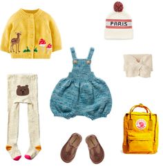 fall outfit for a little girl // flora & fauna