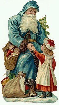 Victorian Scrap — Chrismas Santa (360×640)