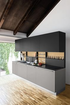 Linear kitchen LIVING I. by Polaris Life
