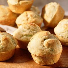 Want to know a secret? Zucchini is so mild, it's the perfect veggie to sneak into your kids' meals. In this recipe, shredded zucchini is stirred into muffin batter, providing plenty of vitamins A & C without making a fuss. Grated lemon rind and a little sugar keep these muffins delightfully light, fresh, and irresistible.