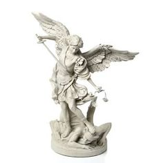 Michael the Archangel Gallery Statue by Design Toscano Patio Garden Furniture from top store Saint Michael Statue, St Michael, Greek Statues, Angel Statues, Angel Sculpture, Lion Sculpture, Archangel Tattoo, Statue Tattoo, Kunst Online