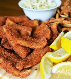 Fried Walleye with Homemade Tartar Sauce #recipe