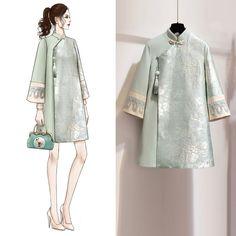 Perfect Clothing Colour Combinations For 2020 Batik Fashion, Hijab Fashion, Fashion Art, Girl Fashion, Fashion Dresses, Womens Fashion, Color Combinations For Clothes, Colour Combinations, Vestidos Retro