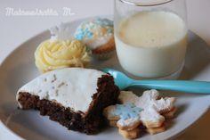 reine des neiges gourmandises fondant chocolat cupcakes panacotta sablés frozen miam flocons flake