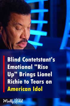 """Blind Singer Stands Alone On Stage and Wrecks Lionel Richie With Emotional Performance of """"Rise Up"""" #AmericanIdol #LionelRichie #performance #music, #song #singing #vide"""
