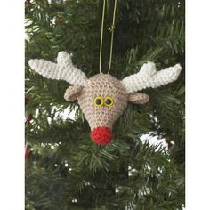 Reindeer Ornament free pattern
