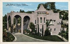 The_Home_of_Charles_Chaplin_Hollywood_Los_Angeles_California_mailed_1932.jpg 1,052×666 pixels