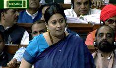 संसद में आज स्मृति के खिलाफ आक्रामक रहेगी कांग्रेस