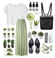 """""""// a r t e m i d e //"""" by liamschoco ❤ liked on Polyvore featuring Nine West, Monki, Givenchy, Nearly Natural, Davines, Odacité, Byredo, The Cambridge Satchel Company, Korridor and Carven"""