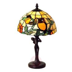 Decorative table lamp Lieke in the classic Tiffany style