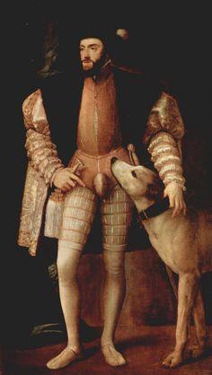 No renascimento, os homens usavam calções bufantes, que se foram encurtando com o tempo. Sobre o órgão sexual usavam um suporte como adorno, de nome codpiece. Este servia para evidenciar a masculinidade e virilidade.  Outra característica da roupa masculina era a utilização de meias coloridas, diferentes em cada perna, simbolizando um código de pertencimento ao seu respectivo clã.  A moda masculina foi mais efusiva que a moda feminina.