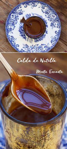 Esta Calda de Nutella… Vai Deixar seu bolo ainda mais gostoso. E tão fácil de fazer que não chega a ser uma receita, é mais um jeitinho de fazer. Não …