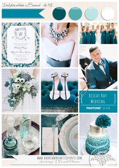 PANTONE Color Report Fall 2015 Biscay Bay Wedding