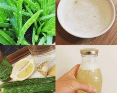 preparation of Aloe Vera juice