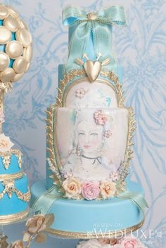 """Marie Antoinette cake """" LET THEM EAT CAKE"""""""