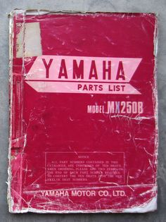 Honda cb125 owners workshop service repair manual cd125 cm125 benly yamaha mx250 1974 workshop parts list manual for mx 250 owners service repair yamaha fandeluxe Image collections