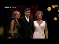 """Renee Fleming, Susan Graham, and Thomas Hampson singing """"Soave sia il vento"""" from Mozart's Cosi fan Tutte, Volpe Gala 2006"""