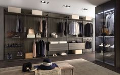 The Loft is a contemporary walk in wardrobe which can be customised to suit your lifestyle.