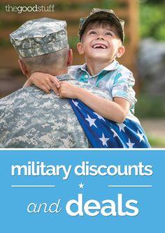 8db1a506c0 230+ Military Discounts and Deals - thegoodstuff Veterans Discounts