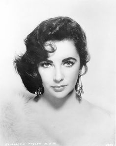 Sad to hear about Elizabeth Taylor. This is the prefect example of old Hollywood glamor