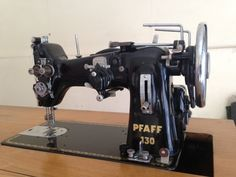 Pfaff 130. An unusual model with two sets of tension discs. I think all 130s can do zigzag and have quite robust industrial motors.