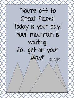 Dr. Seuss Quotes & Printables
