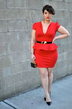 """Embrace different cuts. Peplum sometimes FEELS weird because, it's like, """"hey, why is my shirt ending here ?"""" but they LOOK great. Just find the best fit for you. 