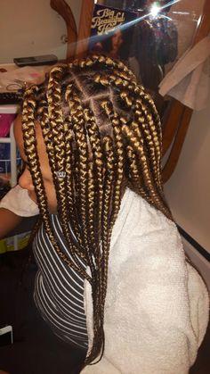 Top 60 All the Rage Looks with Long Box Braids - Hairstyles Trends Winter Hairstyles, Box Braids Hairstyles, Trending Hairstyles, Cool Hairstyles, Black Hairstyles, Hairstyle Ideas, Kids Box Braids, Long Box Braids, Girls Braids