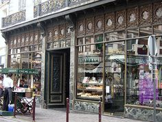 pattisserie meert á lille // I have such fond memories of their pastries. I Want To Travel, Bakeries, Place Settings, French Style, Rue, Coffee Shop, Beautiful Places, Shops, Culture