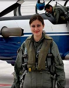 Major Marie Rossi Another of the first American woman to fly in combat in the '90s was Lt Col.Martha McSally, ranked as the top female Air Force pilot.