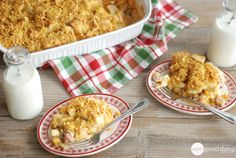A delicious breakfast casserole that you can prepare the night before!