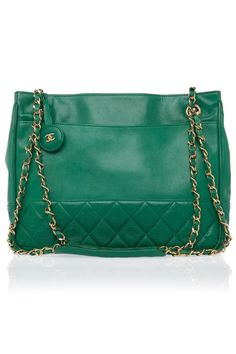 Chanel Ok, is this some kind of sick joke or is this really a green Chanel?  Wait, need paper bag- hyperventilating