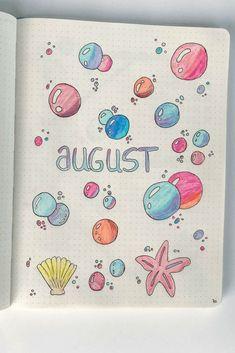 Planen Sie mit mir  August-Ausgabe der Ausgabe   Meer