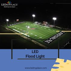 This LED Flood Lights, outdoor lights, is best suitable for outdoor lighting which is rated water and dustproof, have a long shelf life & can help you save a lot on the electricity bill.